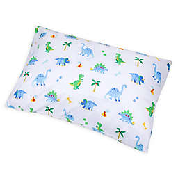 Wildkin Dinosaur Land Standard Pillowcase in Blue