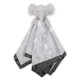Just Born® XL Plush Elephant Security Blanket in Grey