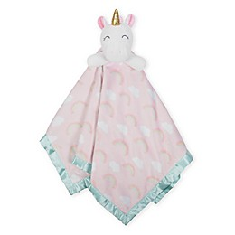Just Born® XL Plush Unicorn Security Blanket in Pink