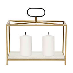 Ren-Wil Flye Small Candle Holder in Gold