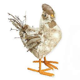 Northlight 15.75-Inch Springtime Chicken Figurine