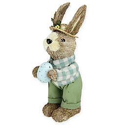 Northlight 10-Inch Spring Sisal Standing Bunny Figurine