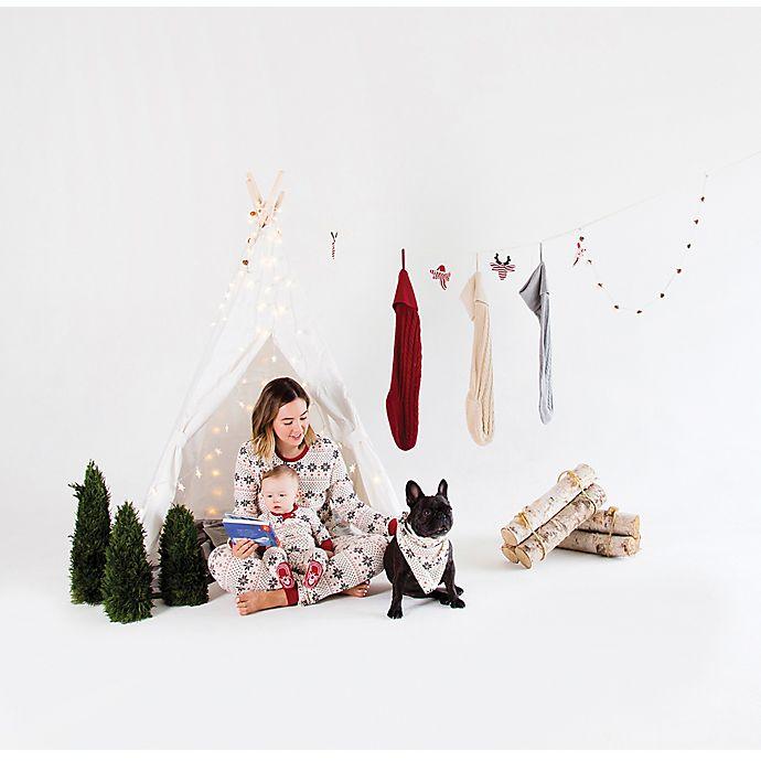 f6720c150 Burt s Bees Baby® Snowflake Holiday Matching Family Pajamas