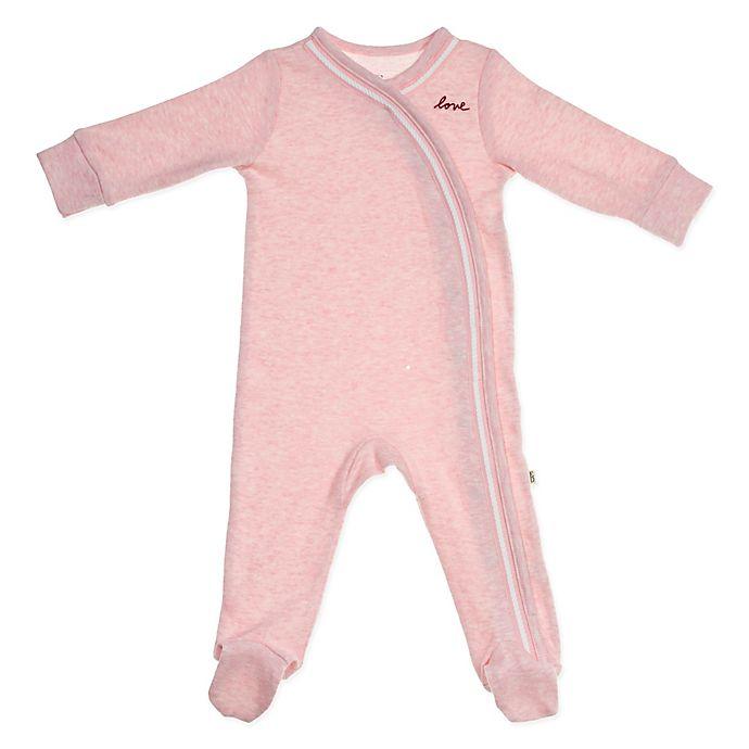 a061195fbb4c ED Ellen DeGeneres Long Sleeve Footie in Pink   buybuy BABY