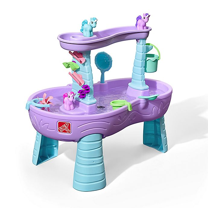 Alternate image 1 for Step2® Rain Showers & Unicorns Water Table