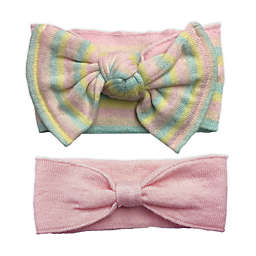 NYGB™ 2-Piece Bow Headband Set