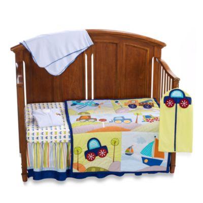 Lambs Amp Ivy 174 Little Travelers 7 Piece Crib Bedding Set