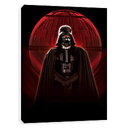 Star Wars™ Vader Glowing Death Star Canvas Wall Art