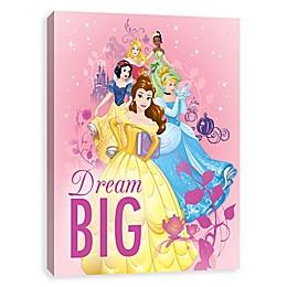 Disney® Dream Big Princess Canvas Wall Art