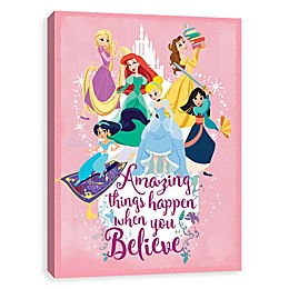 Disney® Princess Group Amazing Things Canvas Wall Art