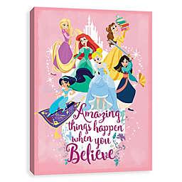 Disney® Princess Group Amazing Things Canvas Wall Art
