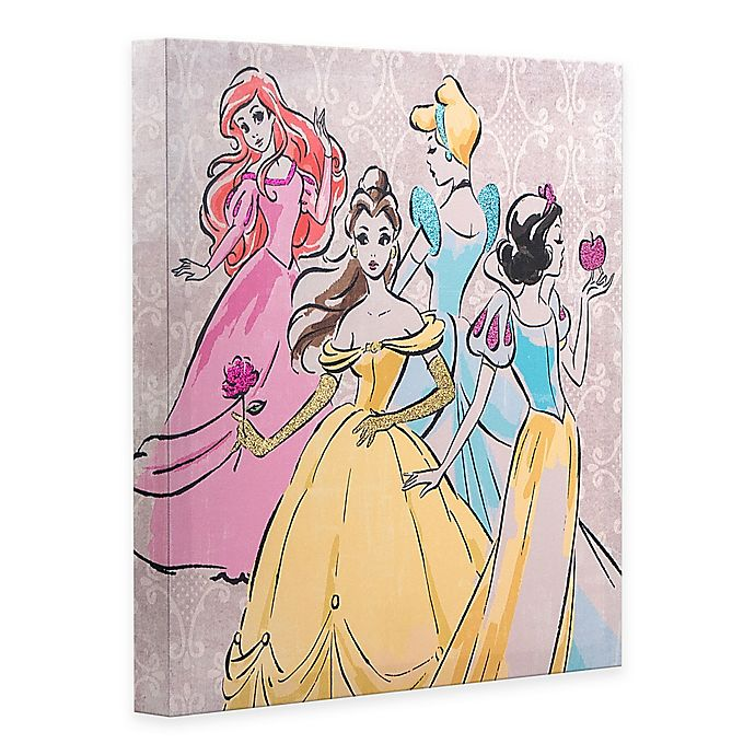 Disney 174 Fashionista Group Canvas Wall Art Bed Bath Amp Beyond
