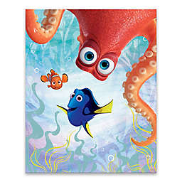 Disney® Hank Peeking & Friends Canvas Wall Art