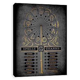 Harry Potter™ Spells & Charms Canvas Wall Art