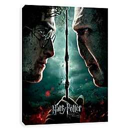 Harry Potter™ Deathly Hallows Part II Canvas Wall Art