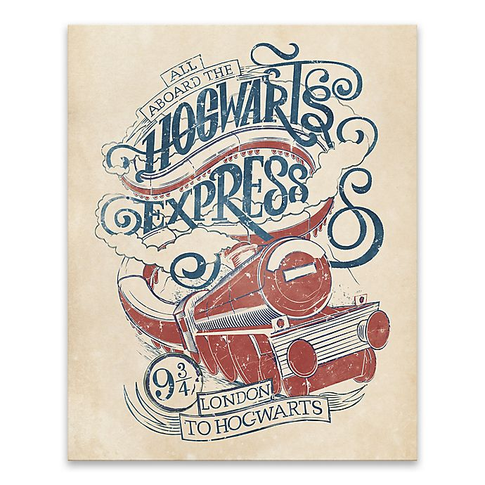 Alternate image 1 for Harry Potter™ Hogwarts Express Canvas Wall Art