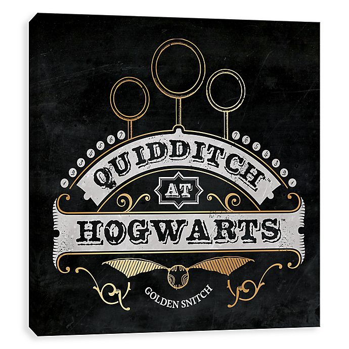 Alternate image 1 for Harry Potter™ Quidditch Board Canvas Wall Art