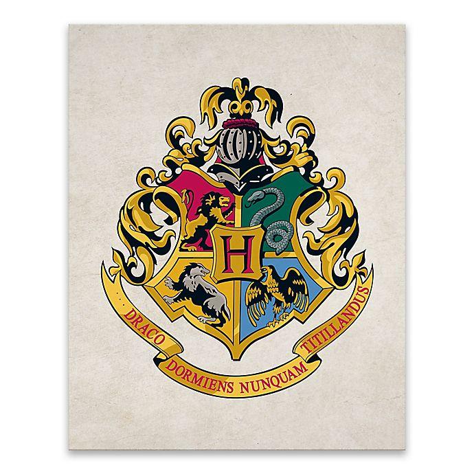 7c29e953da738 Harry Potter™ Hogwarts Crest Canvas Wall Art