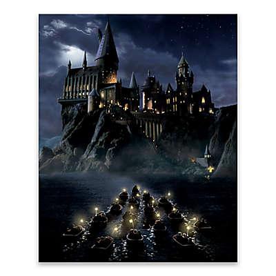 Harry Potter™ First Night Sail Canvas Wall Art