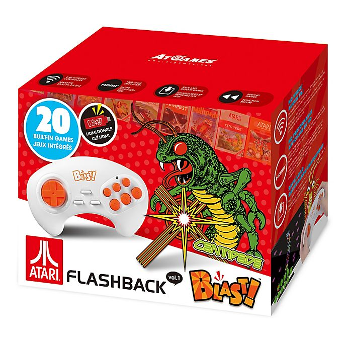 Alternate image 1 for Atari® Flashback® Blast! Centipede HDMI Plug-In