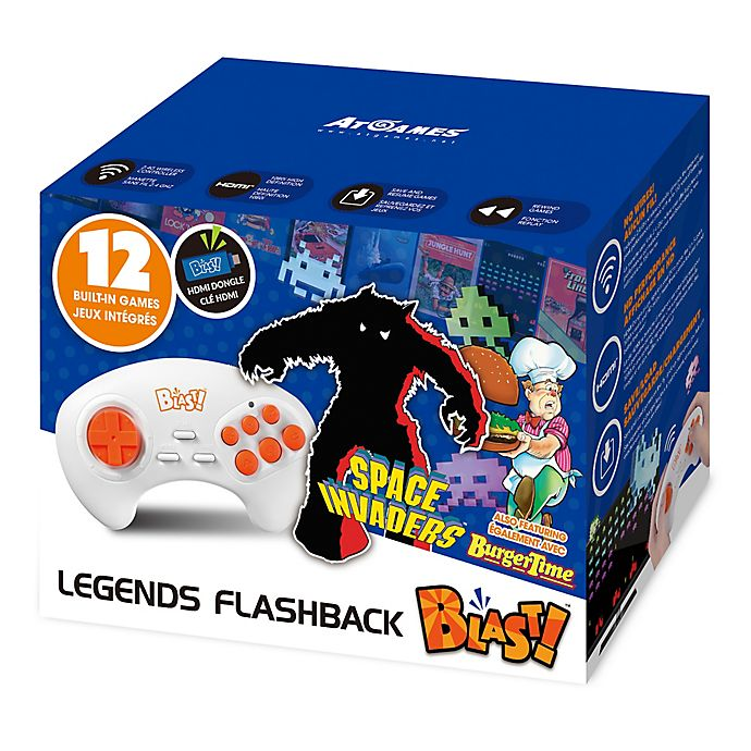 Alternate image 1 for Atari® Flashback® Blast! Space Invaders HDMI Plug-In