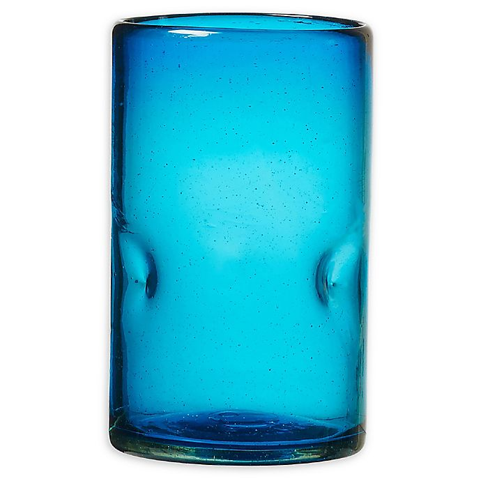 Alternate image 1 for Global Amici Ensenada High Ball Glasses in Aqua (Set of 4)