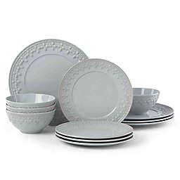 Lenox® Chelse Muse Fleur Blue™ 12-Piece Dinnerware Set