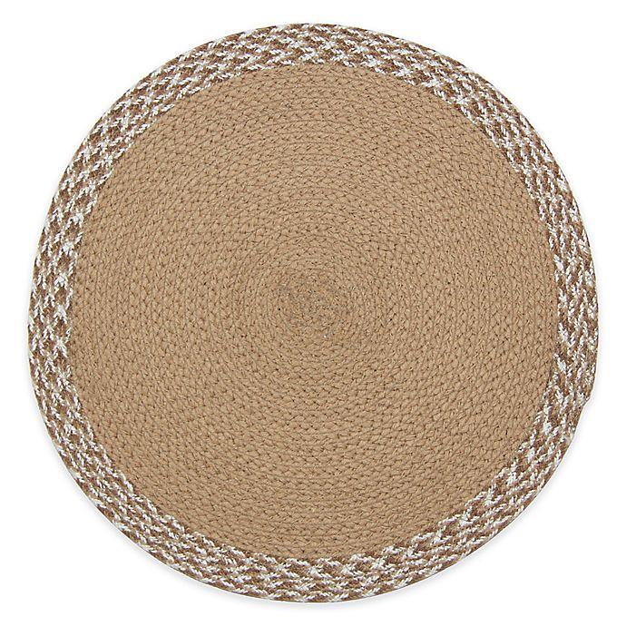 Alternate image 1 for Melange Braided Placemat in Tan