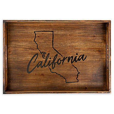 Core™ Home California Rectangular Wood Serving Tray