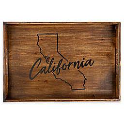 Core™ Home California Rectangular Wood Serving Tray