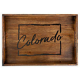 Core™ Home Colorado Rectangular Wood Serving Tray