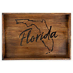 Core™ Home Florida Rectangular Wood Serving Tray