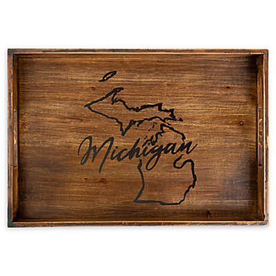 Core™ Home Michigan Rectangular Wood Serving Tray