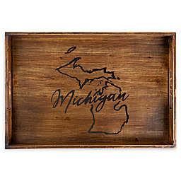 Core™ Home Michigan Rectangular Wood Serving Tray