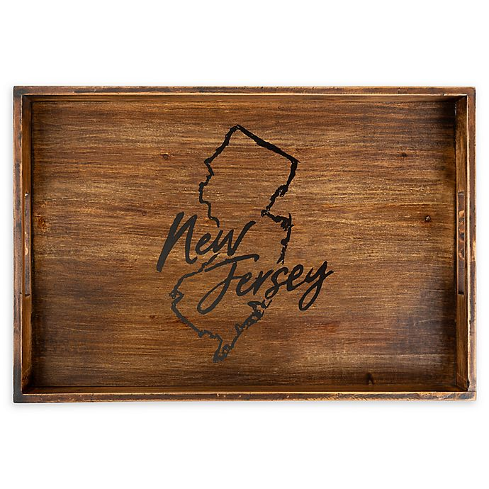 Alternate image 1 for Core™ Home New Jersey Rectangular Serving Tray in Tan