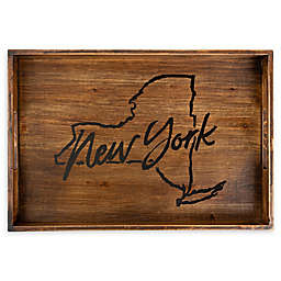 Core™ Home New York Rectangular Wood Serving Tray