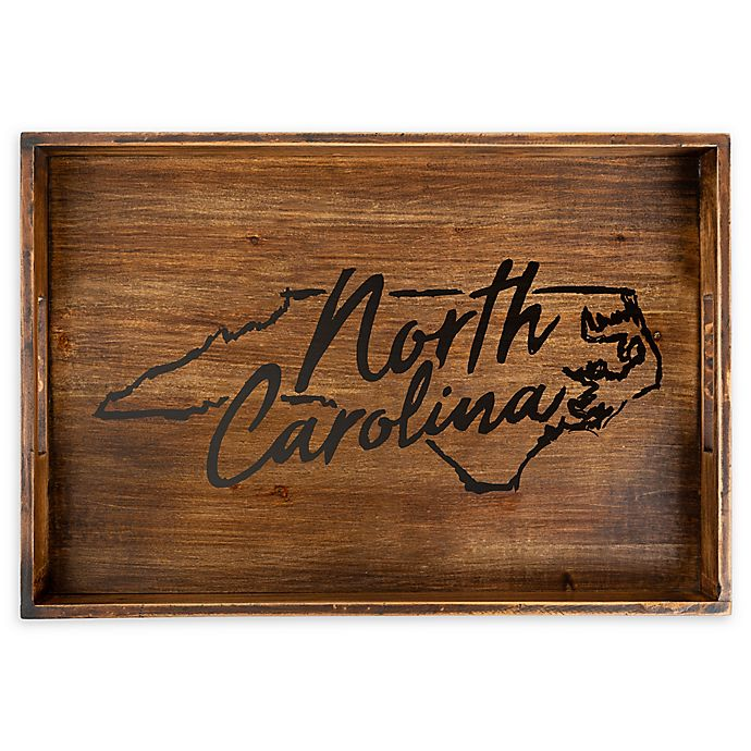 Alternate image 1 for Core™ Home North Carolina Rectangular Serving Tray in Tan
