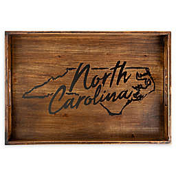 Core™ Home North Carolina Rectangular Wood Serving Tray