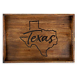 Core™ Home Texas Rectangular Wood Serving Tray
