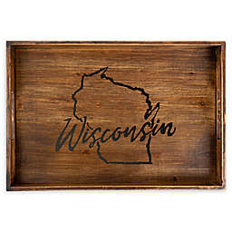 Core™ Home Wisconsin Rectangular Wood Serving Tray