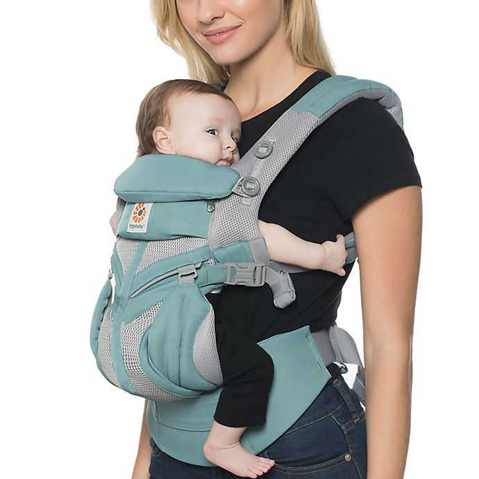 Alternate image 1 for Ergobaby™ Omni 360 Cool Air Mesh Baby Carrier in Mint