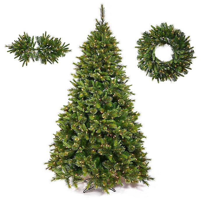 Alternate image 1 for Vickerman Cashmere Pine Christmas Tree Collection