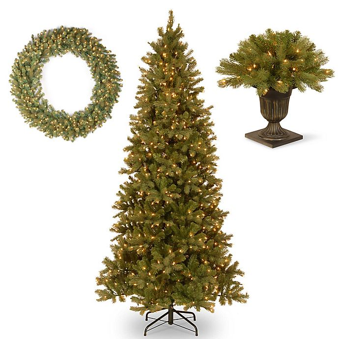 National Tree Company Downswept Douglas Fir Christmas Collection