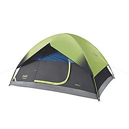 Coleman® Sundome® 4-Person Dark Room Tent in Green/Black