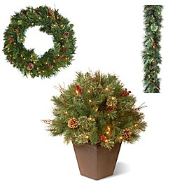National Tree Company Glistening Pine Christmas Collection