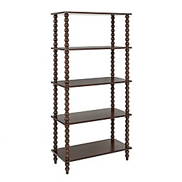 Madison Park Signature Beckett Bookcase in Brown