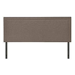 Molly Adjustable Linen Headboard in Grey