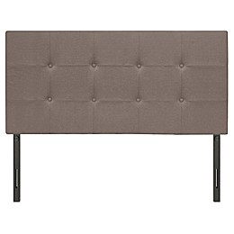 Steven Adjustable Linen Headboard in Grey