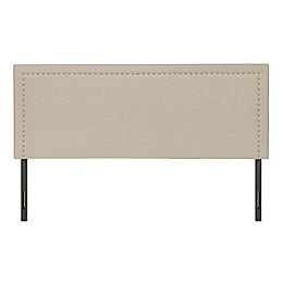 Molly Adjustable Linen Headboard in Beige