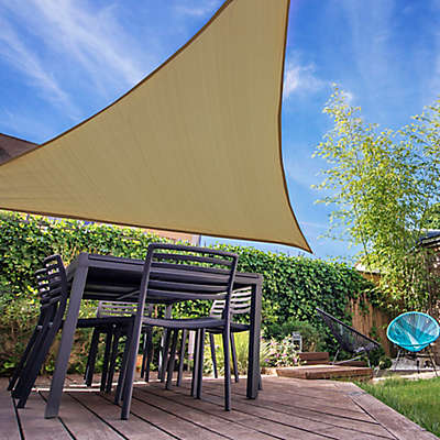 Shade Sails Sun Coolaroo Triangle Shade Sails Bed Bath Beyond